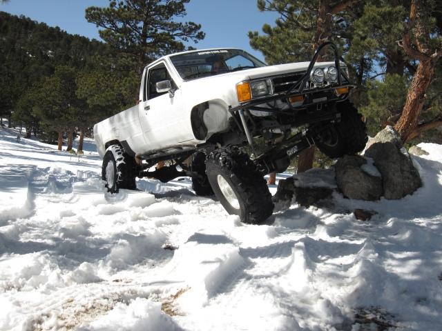 My Stronger Half's Truck